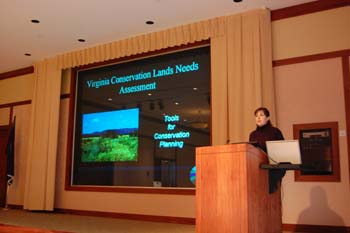 Jennifer Ciminelli (VDCR) presents how the VCLNA can be used as a tool for conservation planning