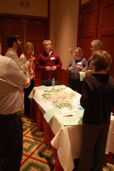 Participants discuss the green infrastructure of the Richmond Region